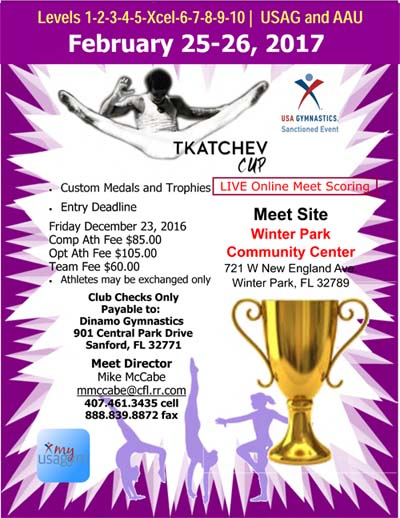 Tkatchev Cup 2017 | Meet Information